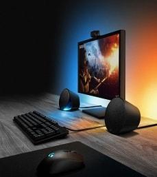 Logitech G560 – 2.1 Sound mit spielbasierter RGB-Beleuchtung