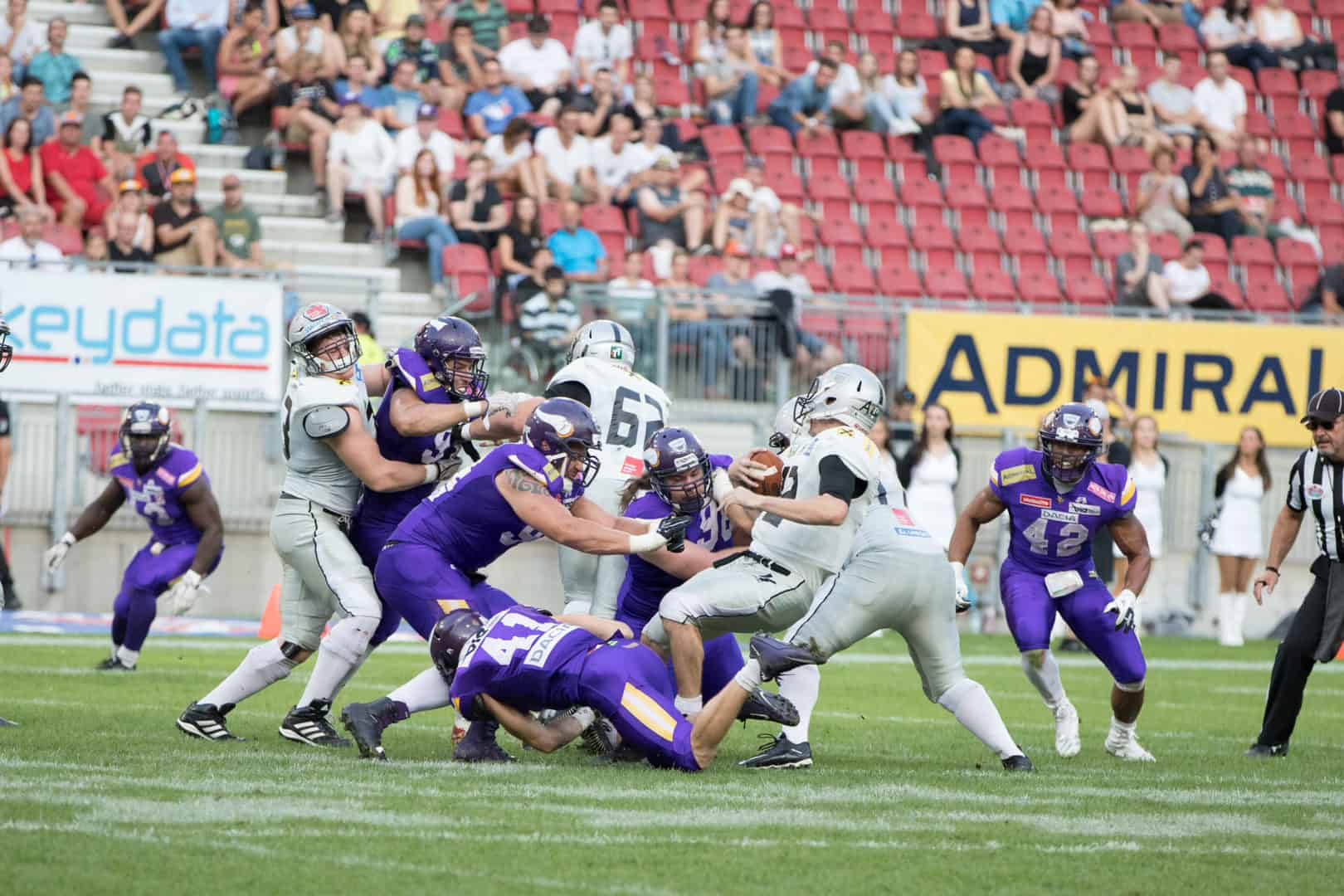 Dacia Vikings vs. Swarco Raiders Foto ©Andreas Bischof