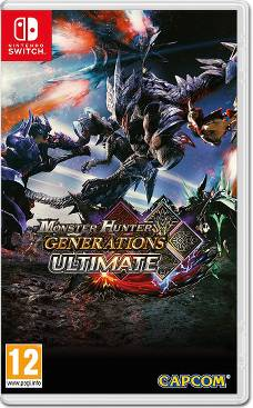 Monster Hunter Generations Ultimate Packshot