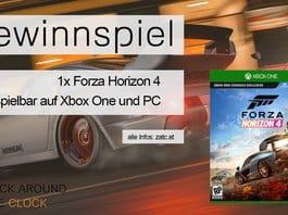 Forza Horizon 4 Gewinnspiel