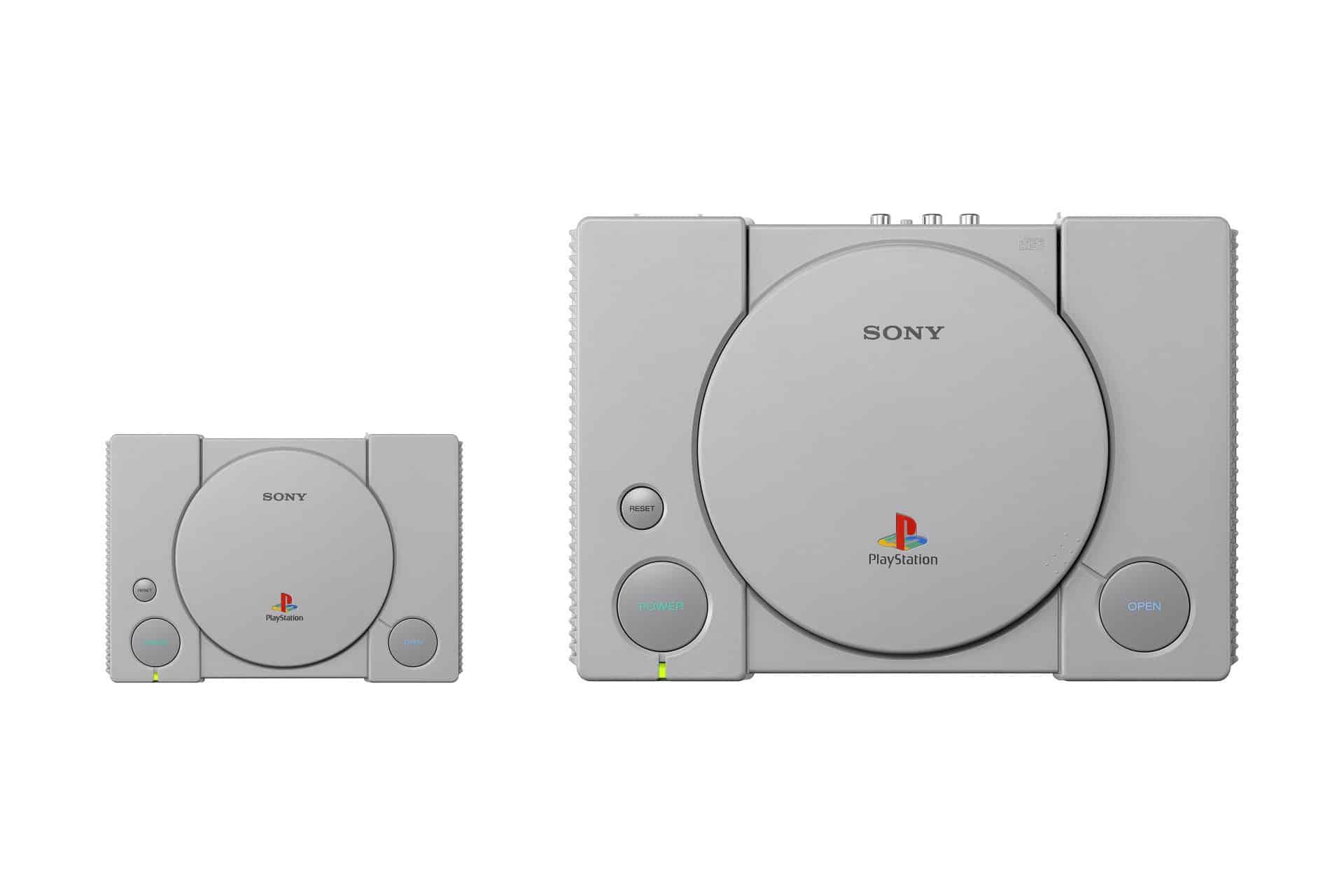 Vergleich Playstation Classic und Original