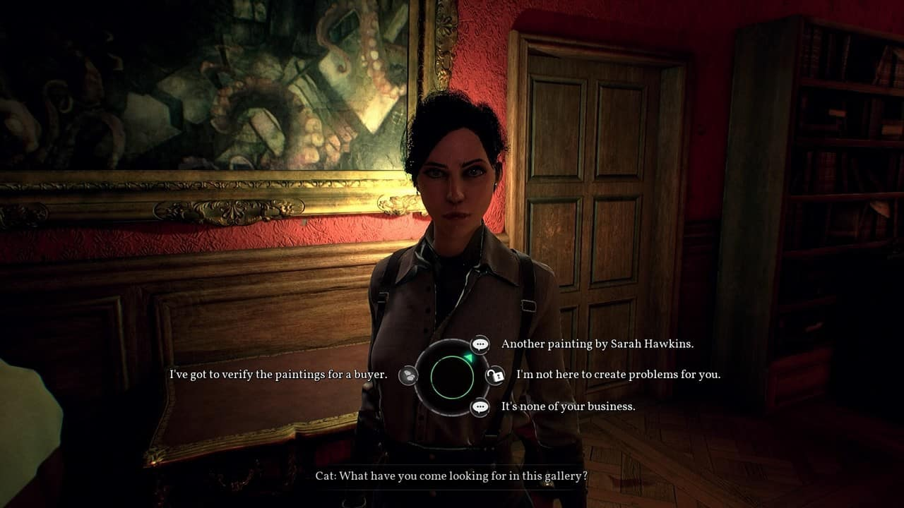 Call of Cthulhu Gespräch mit Cat