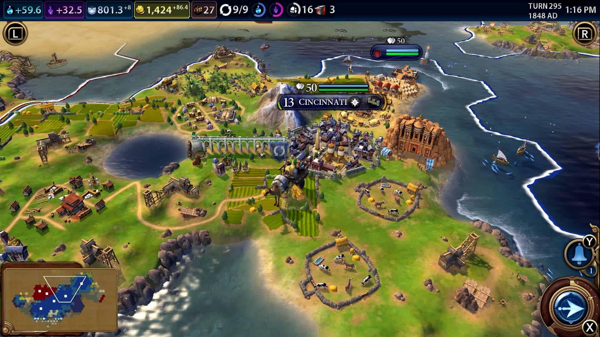 Civilization 6 für Switch - So könnt ihr im Multiplayer spielen