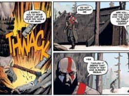God of War - Schaut euch die ersten Seiten des Comics an!