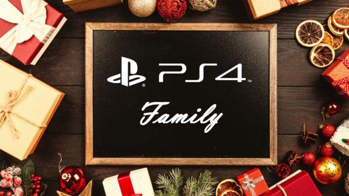 Weihnachten PS4 Familie Games
