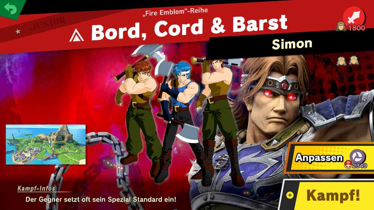 Super Smash Bros Ultimate Kampf gegen Geister