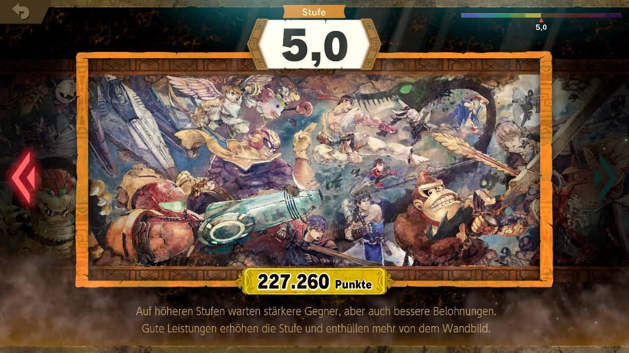 Super Smash Bros Ultimate Klassischer Modus Auswahl