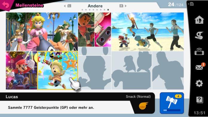 Super Smash Bros Ultimate Meilensteine