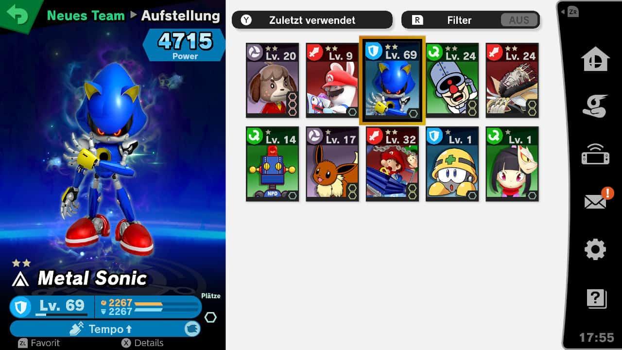 Super Smash Bros Ultimate Geister Leveln
