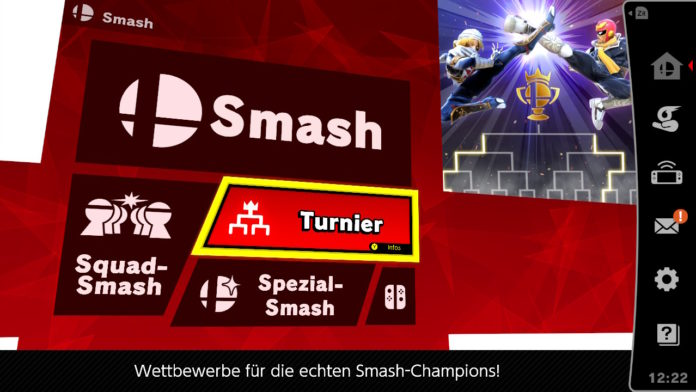 Super Smash Bros Ultimate Turniermodus