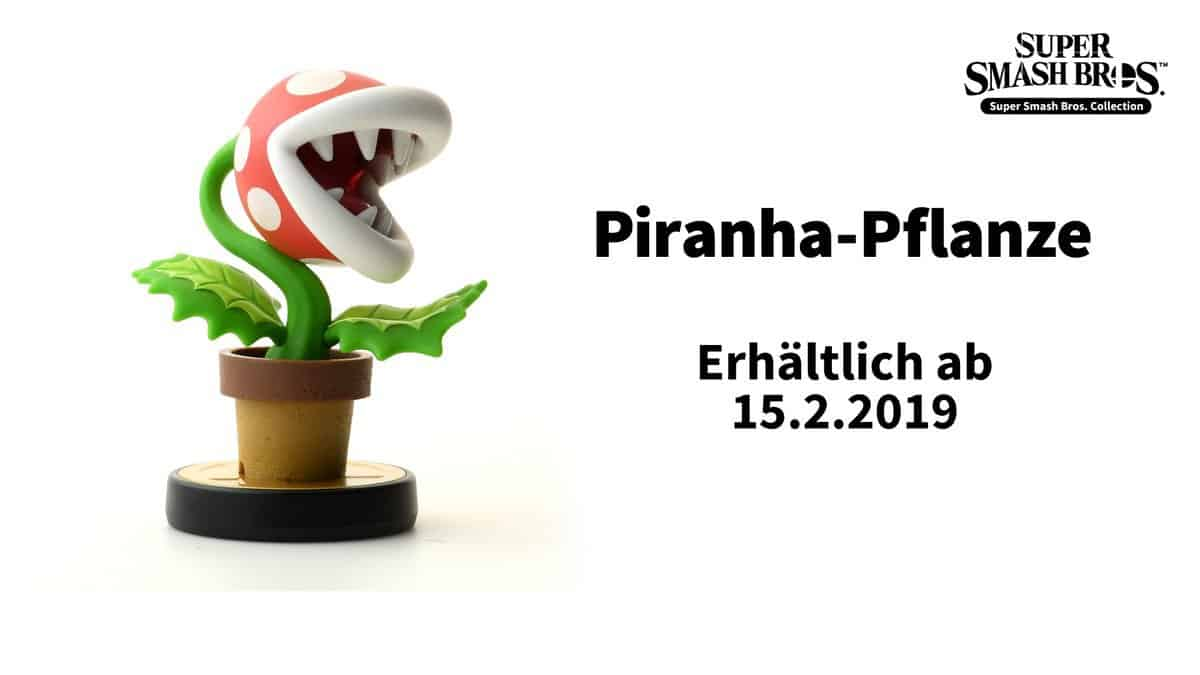 Super Smash Bros Ultimate Piranha Pflanze Amiibo