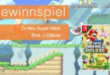 Gewinnspiel 2x New Super Mario Bros U Deluxe