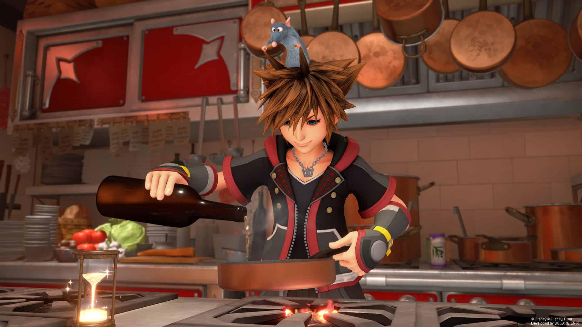 Kingdom Hearts 3 – Richtig Kochen und alle Zutaten finden
