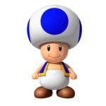 blauer Toad