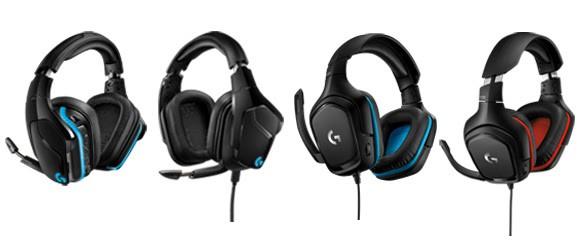 Logitech stellt neue Gaming-Headsets der G-Reihe vor