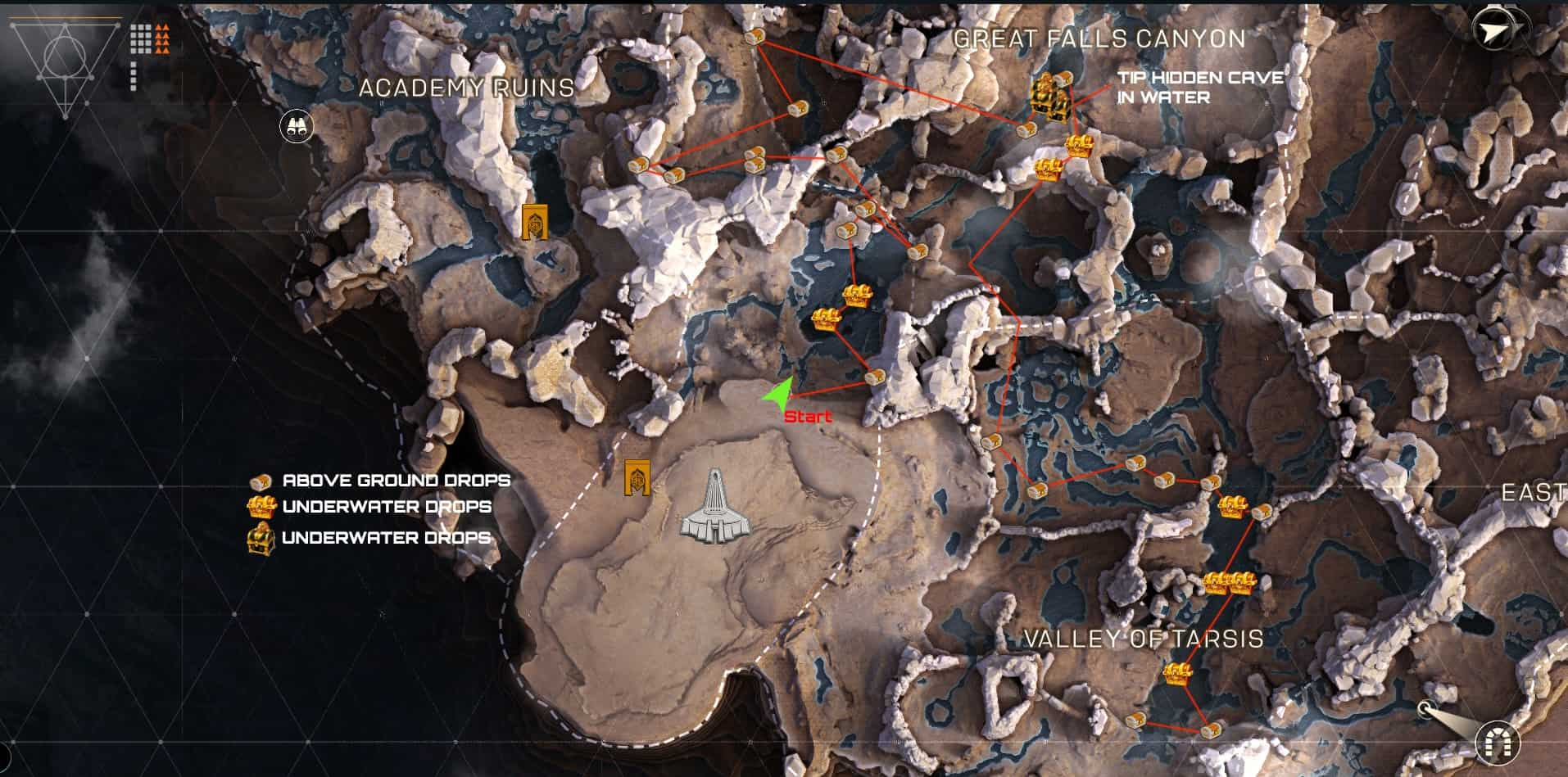 Anthem Kisten Map - Truhen finden und schnell Loot sammeln