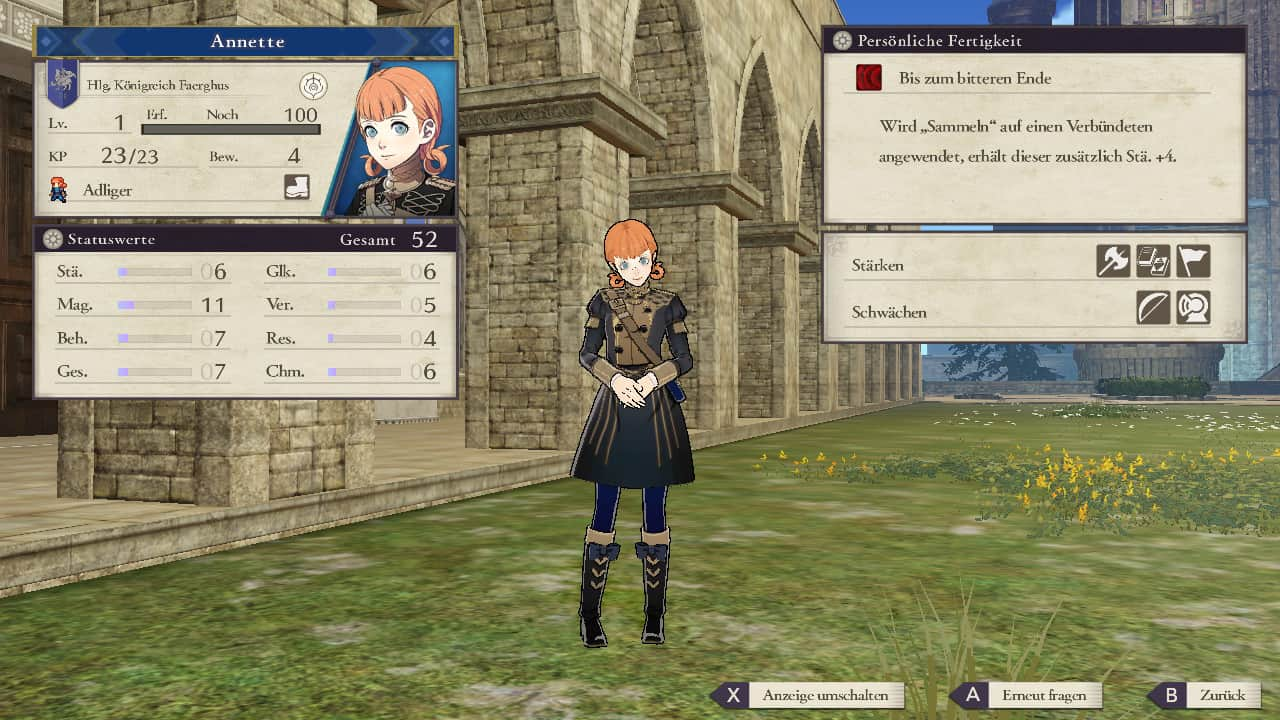 Fire Emblem Annette