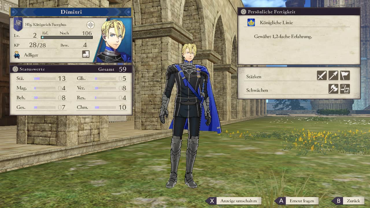 Fire Emblem Three Houses Dimitri