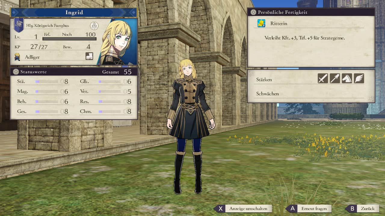 Fire Emblem Three Houses Ingrid