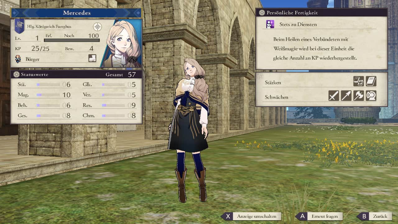 Fire Emblem Three Houses Mercedes