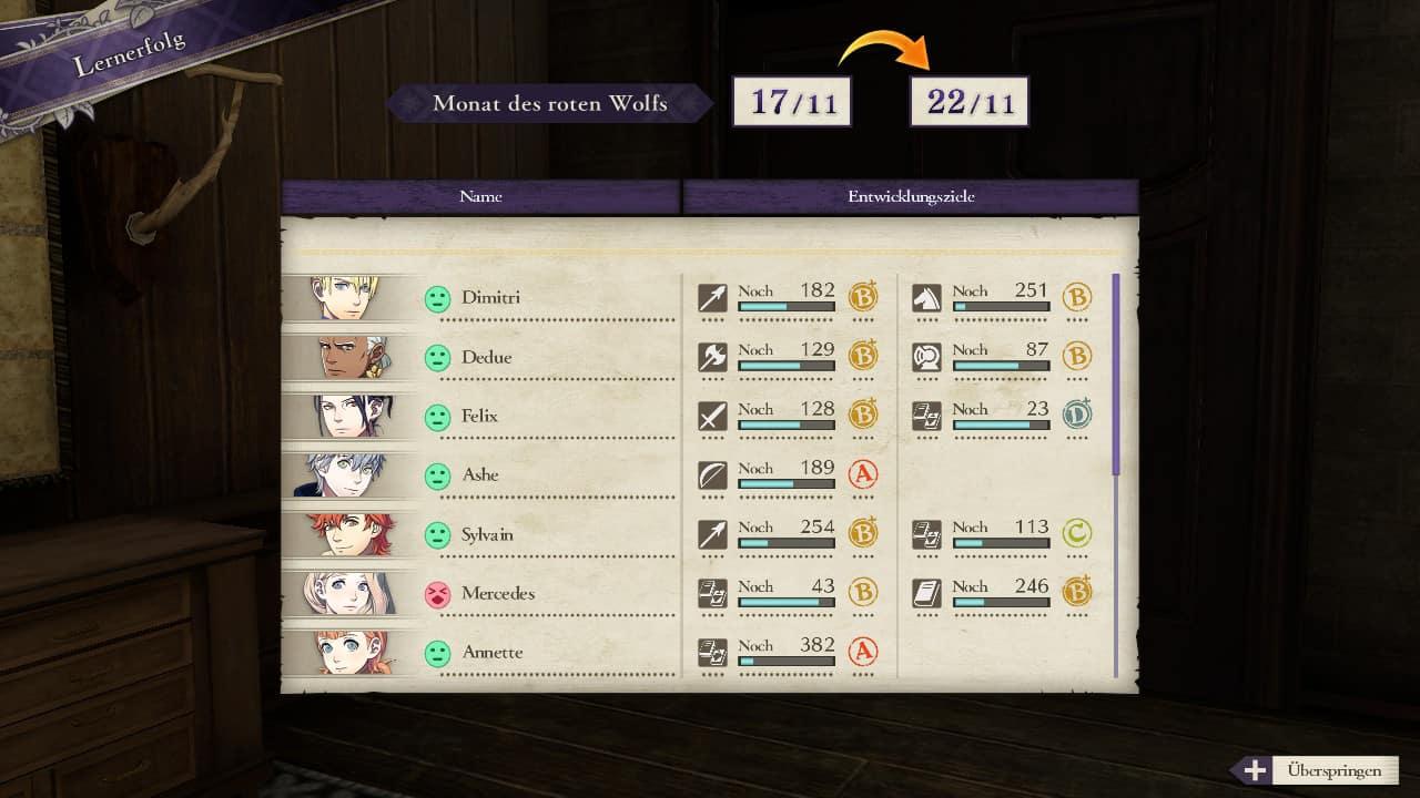 Fire Emblem Klassenwechsel