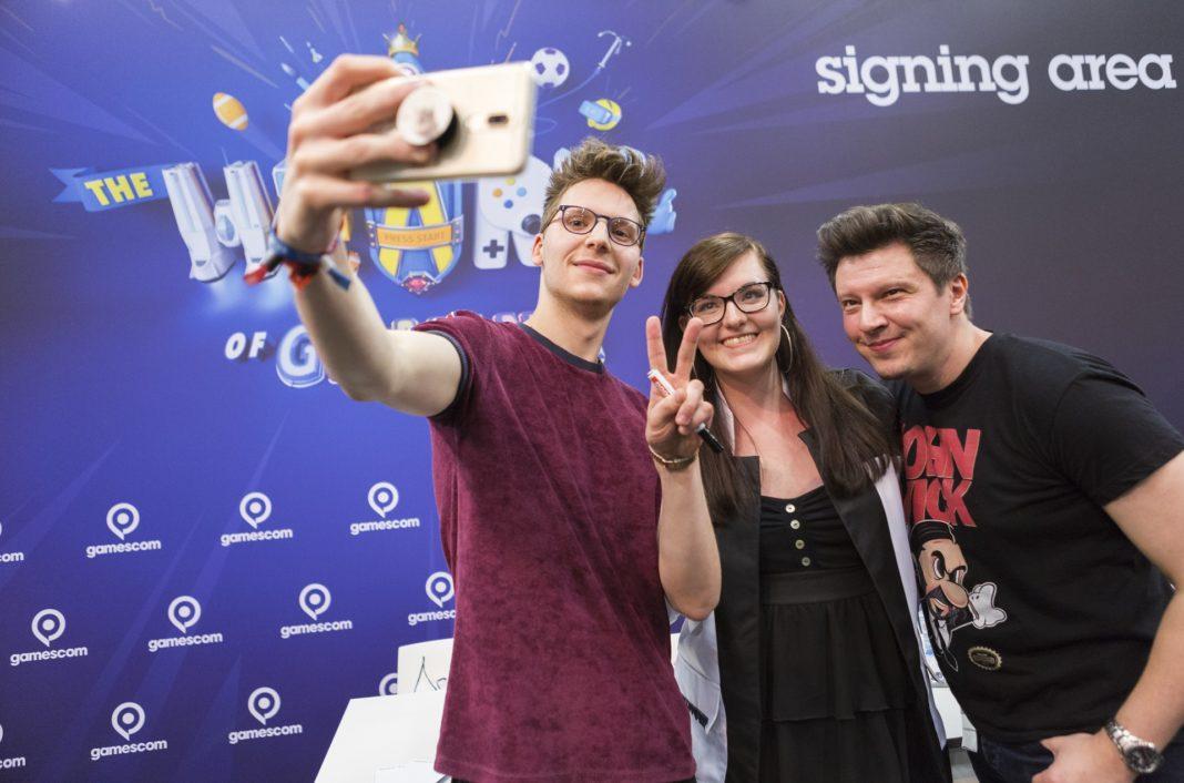 Gamescom 2019 Autogrammstunden in der Signing Area