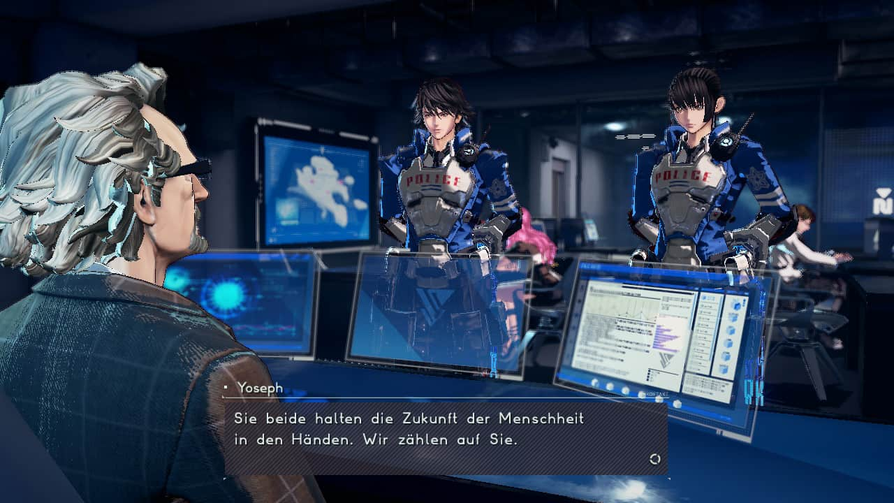 Astral Chain Hauptcharakter