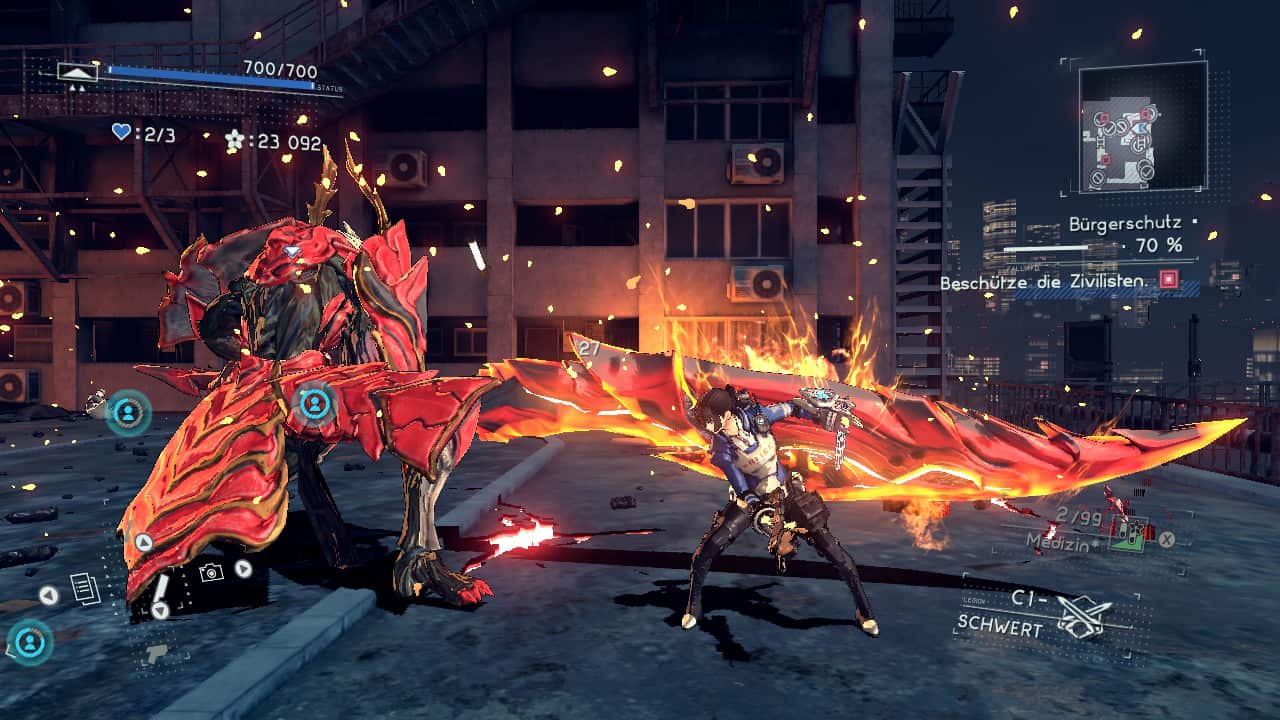 Astral Chain Kampf