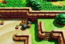 Link's Awakening Komplettlösung Wurmpalast Schlüssel finden