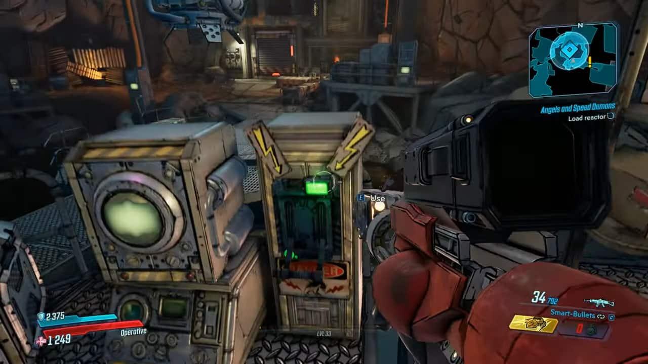 Load reactor Angels and Speed Demons Borderlands 3