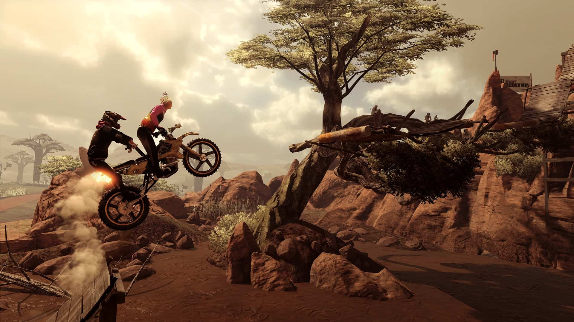 Trials Rising DLC Crash & Sunburn