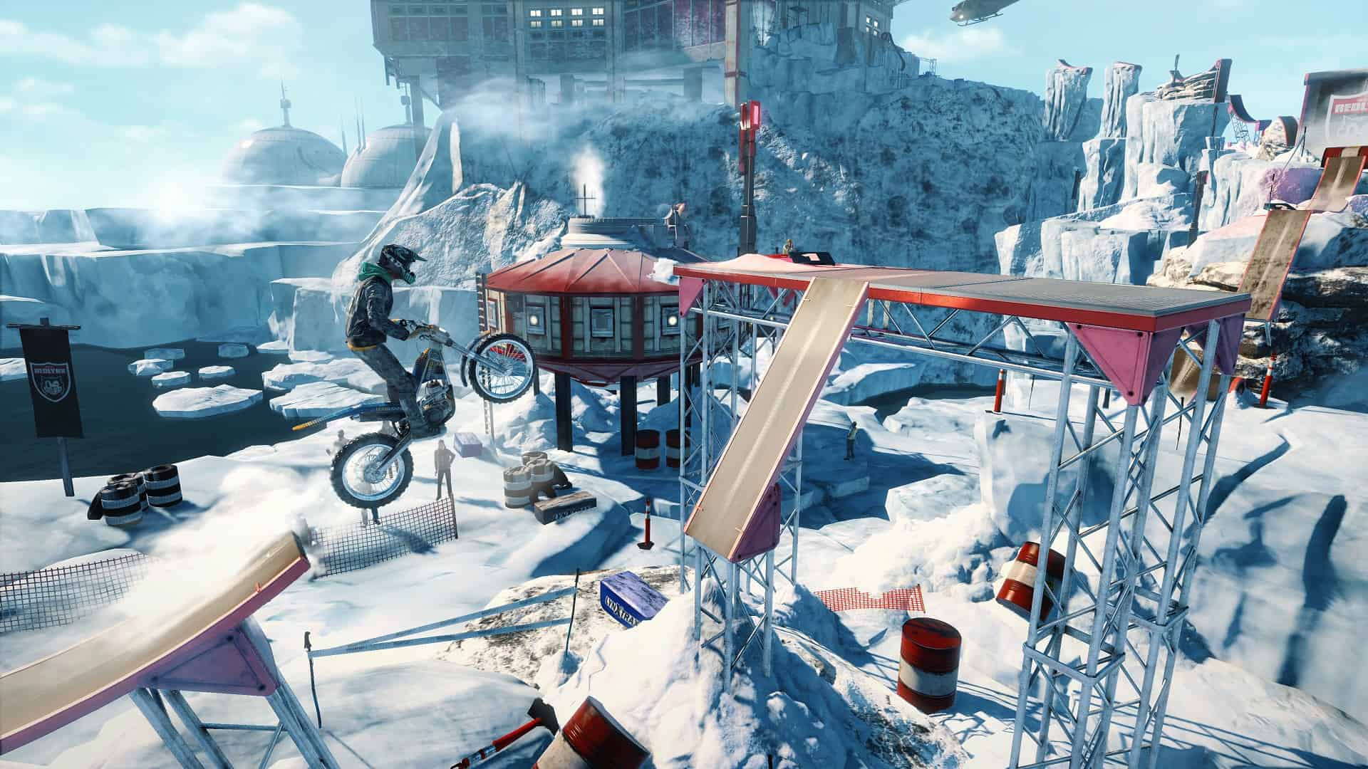 Trials Rising DLC Crash und Sunburn Screenshot