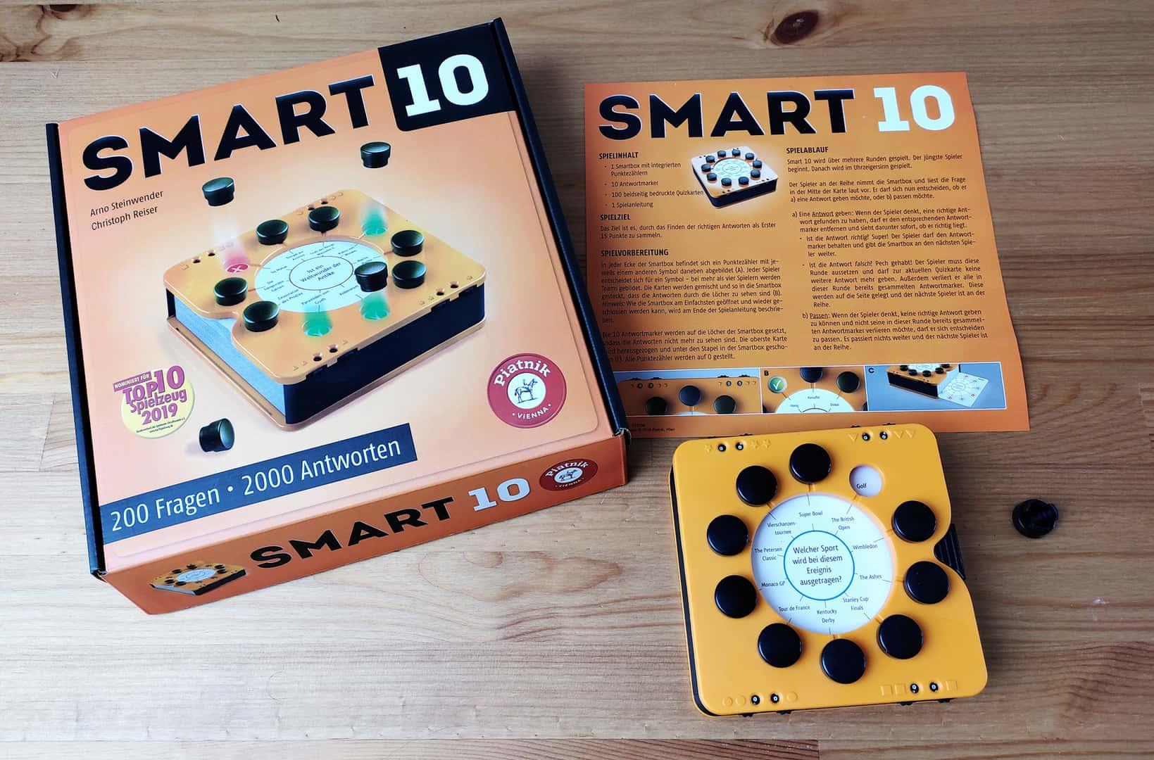 Smart 10 im Test – Quiz-Spiel mit Fingerspitzengefühl
