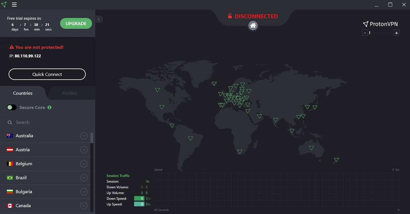 Warzone schneller laden mit ProtonVPN