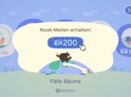 Animal Crossing New Horizons Meilen sammeln