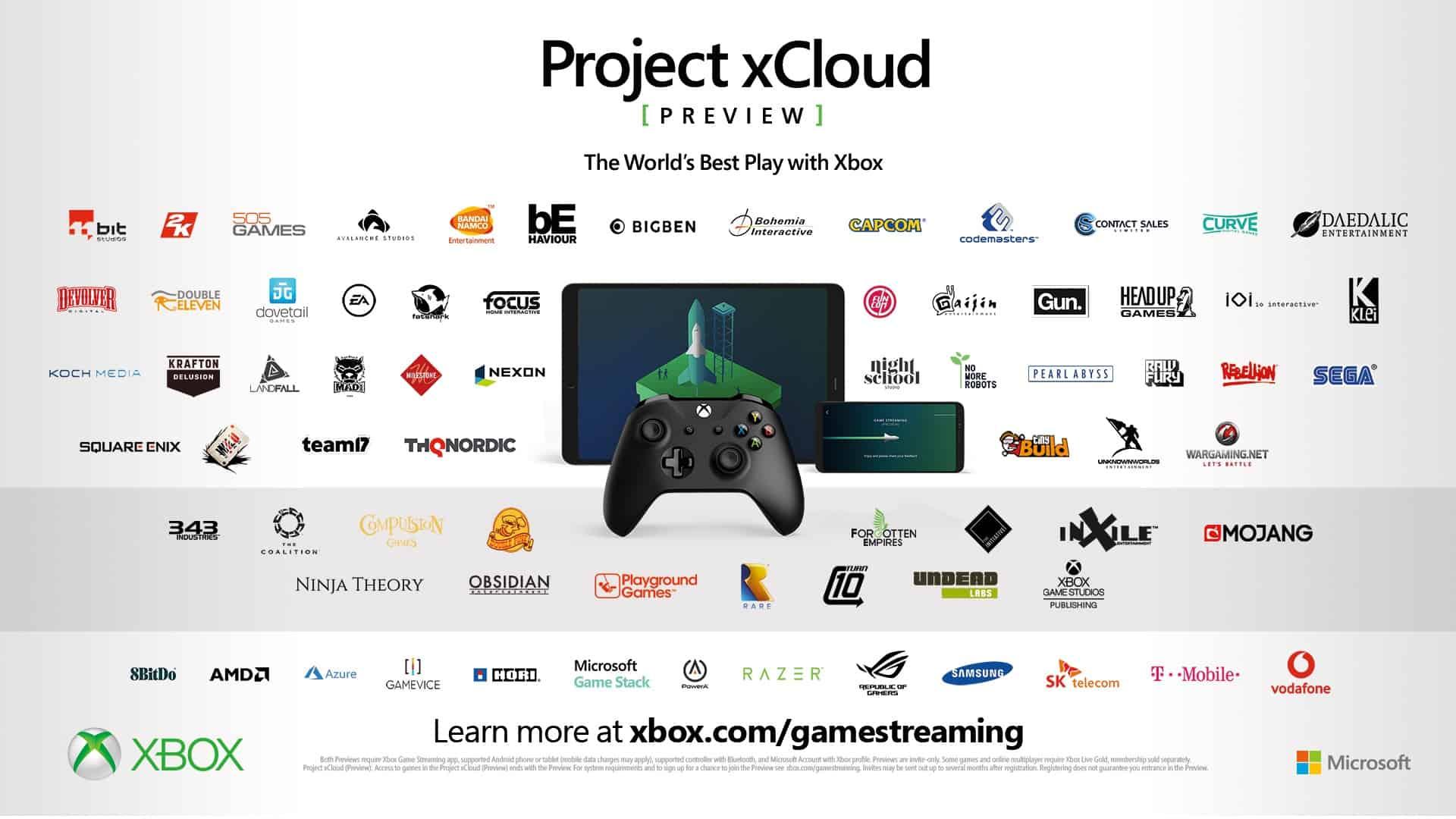 Project xCloud anmelden