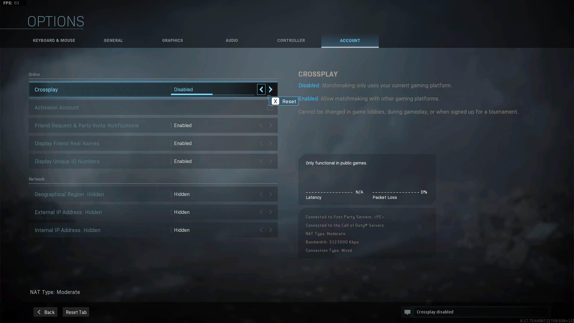 Warzone Crossplay für PC und PS4
