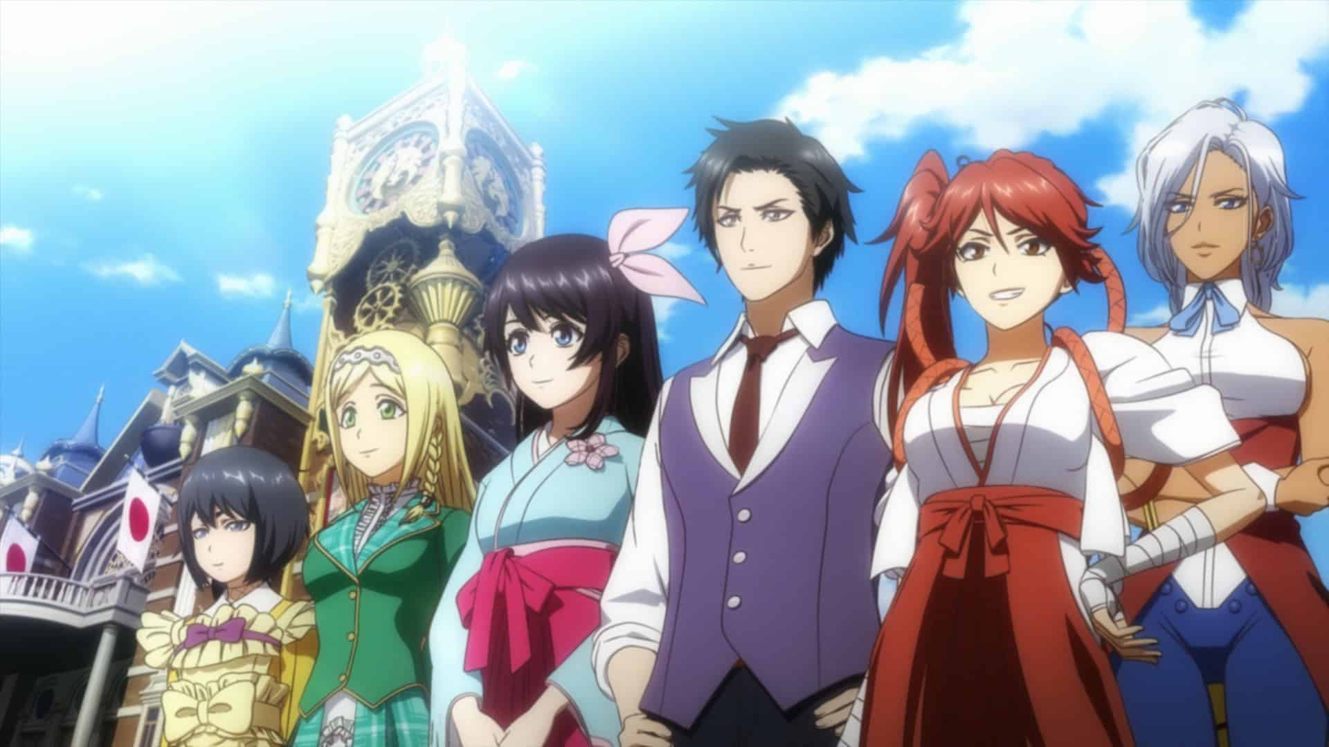 Sakura Wars Charaktere