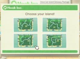 Animal Crossing New Horizons Insel auswählen