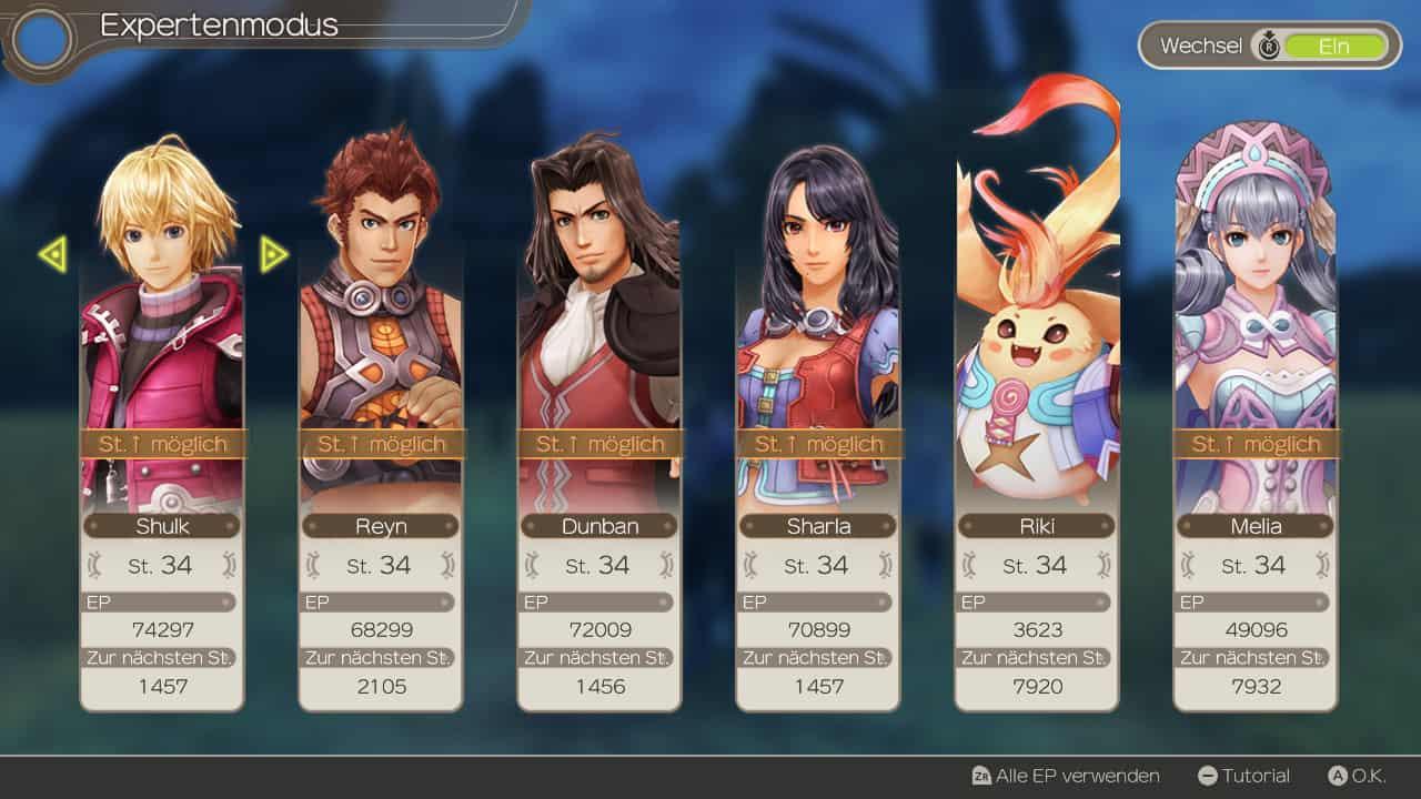 Xenoblade Chronicles Charaktere