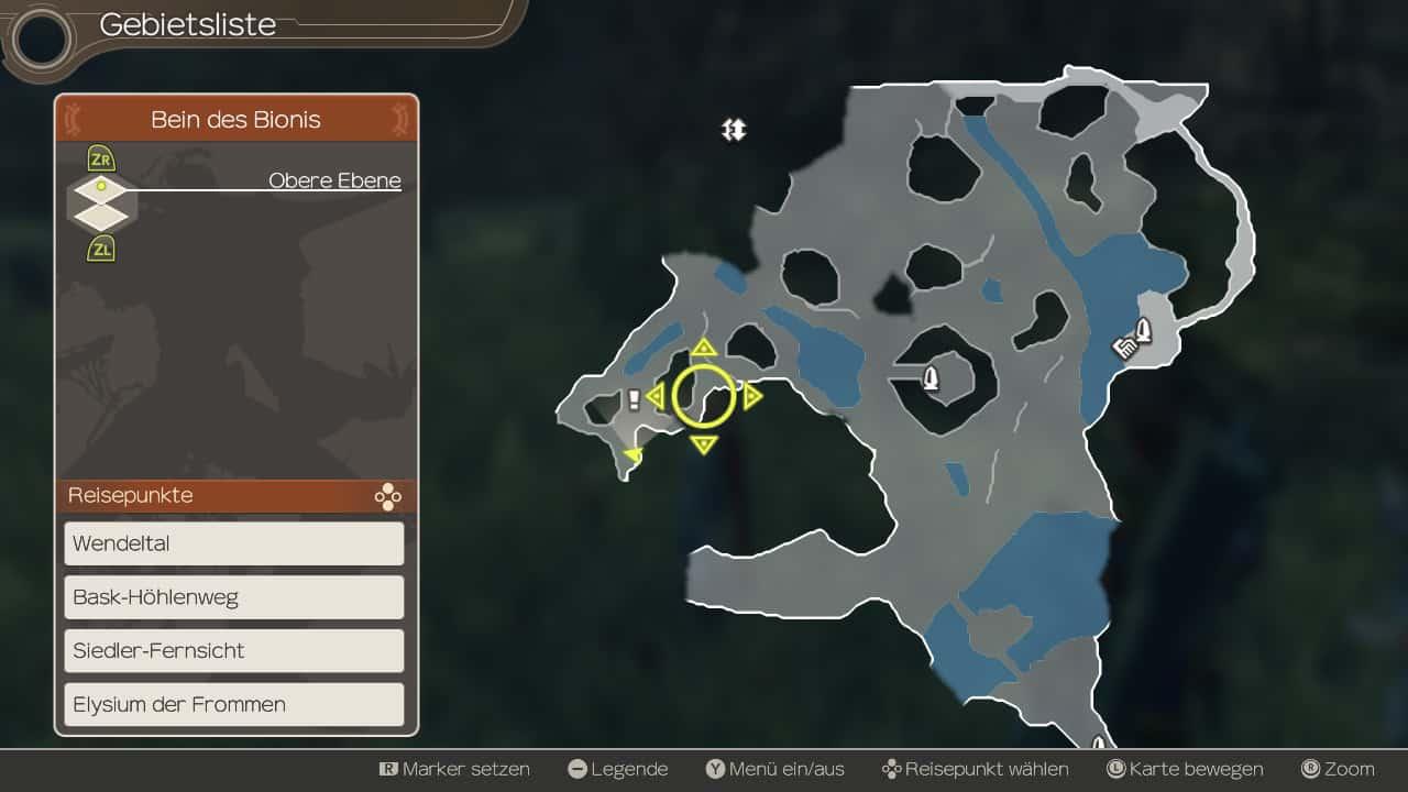 Xenoblade Chronicles Map