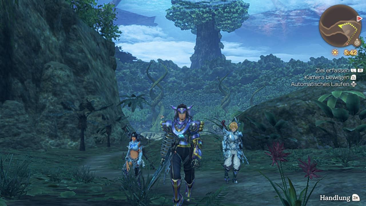 Xenoblade Chronicles Wald von Makna