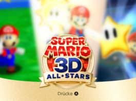 Super Mario All-Stars - Titel